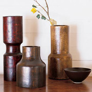 Brown Color Scheme Vase