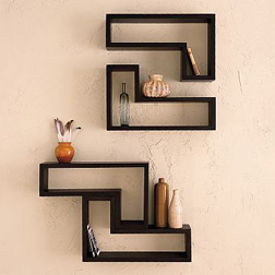 Lovely Modular Wall Shelving