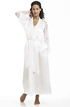 Oscar de la Renta Long Charmeuse Robe
