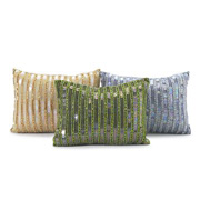 Green and Blue Color Scheme Pillows