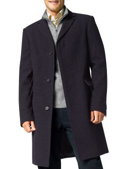 Banana Republic Vintage Plaid Topcoat