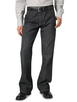 Banana Republic Black Utility Jean