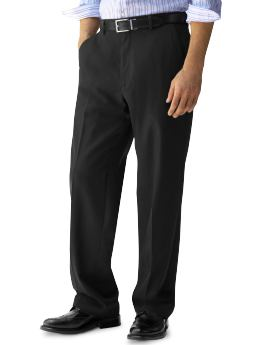 Lightweight Wool Solid Dress Pant