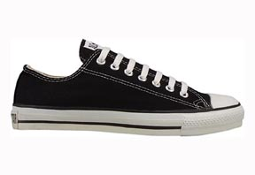 Chuck Taylor® All Star® Black Unisex Low