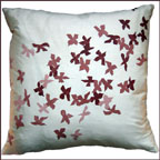 Jane Watson Floating Petals Pillow