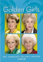 The Golden Girls: The Complete Second Season DVD