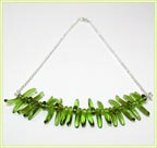 Growing Grass Necklace at Bijou Boutique