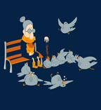 Threadless Lunch Time Tee