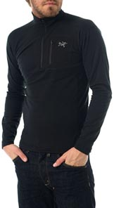 Rho LT Zip-neck Turtleneck